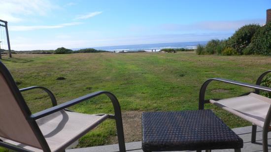 Wayside Lodge: Blick von der Veranda