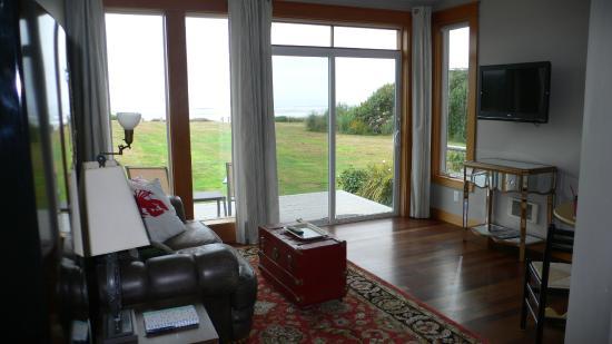 Wayside Lodge: Blick aufs Meer