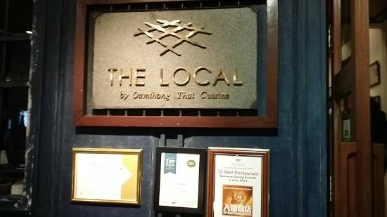 The Local: At the entrance