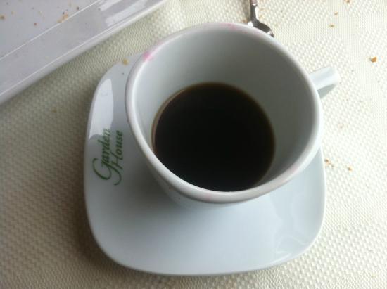 Stone Garden House: Café