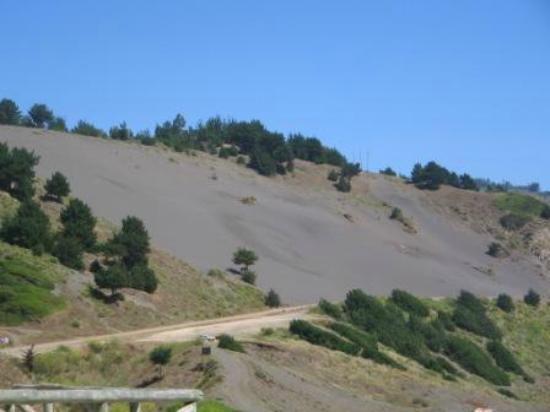 Constitucion, Chile: Cerro de arena - Constitución, Región del Maule