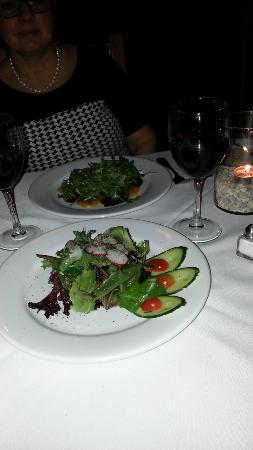 The Gates on Roblin: Salad - excellent presentation