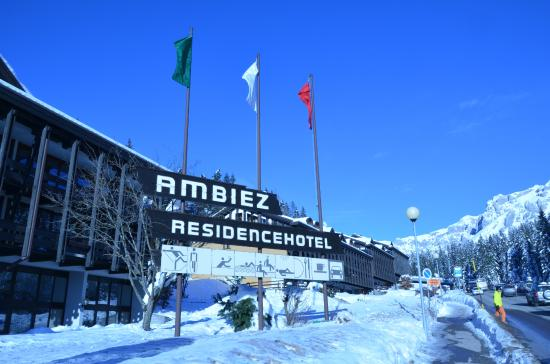 Ambiez Residencehotel : Residence Hotel Ambiez di Madonna di Campiglio
