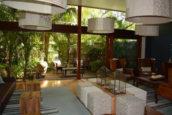 Arajilla Retreat - Lord Howe Island: Resort lounge and reception