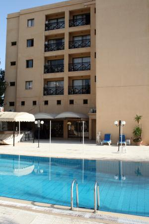 Jasmine Hotel  Apartments: A sun-trap when the sun's out.