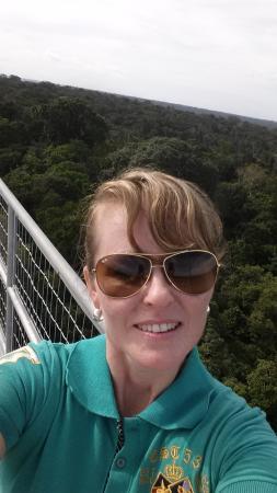 Museu da Amazonia (MUSA): no top da torre