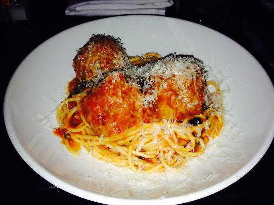 Liberty Tavern: Spaghetti and Meatballs