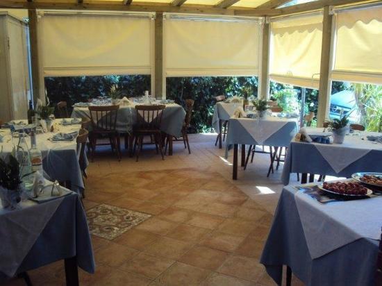 Hotel Verbena : Saletta esterna