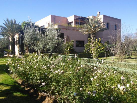 Dar NanKa : vue du jardin