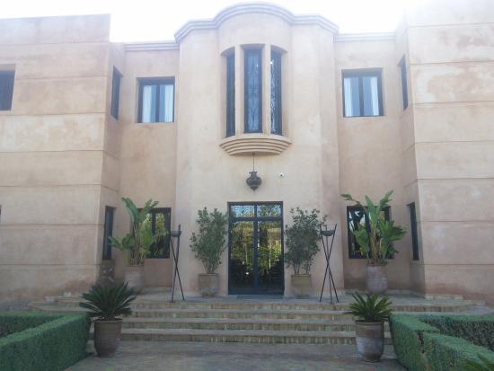 Dar NanKa: entrée de la maison d'hôtes