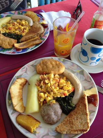 Sips & Bites: Jamaican breakfast, it was everything!