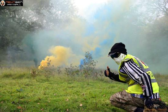 Smoke Grenades - Picture of Nextgen Paintball Centre