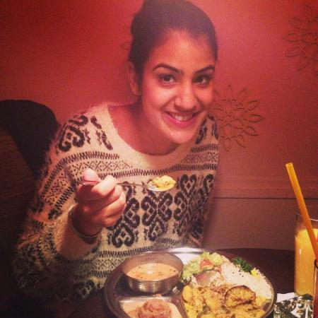 The set menu happy face :) Gopal Restaurant