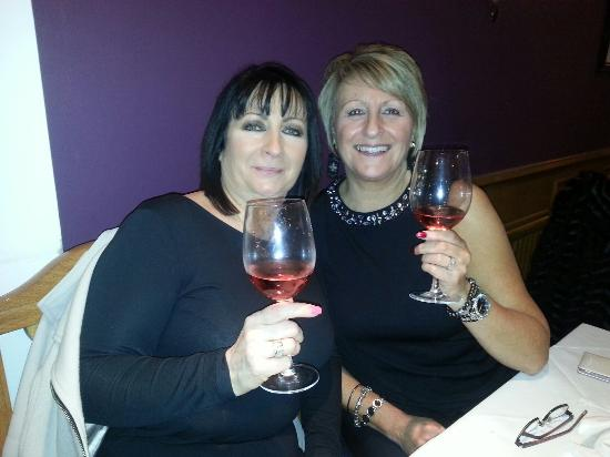 Monsoon: Lynn and Marie out on the pull