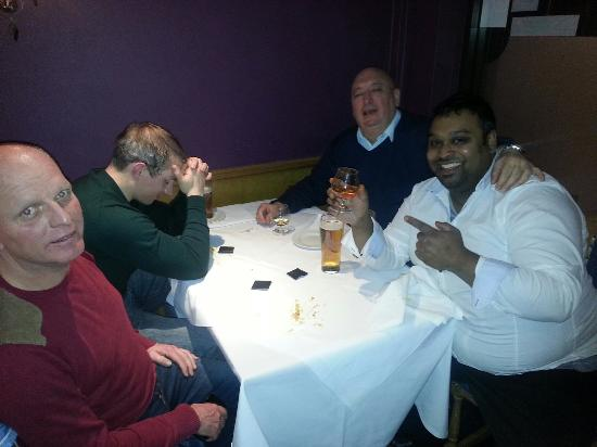Monsoon: Rating with the guys after a hard nights work