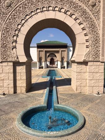Putrajaya Botanical Garden : Entrance of Moroccan Pavilion