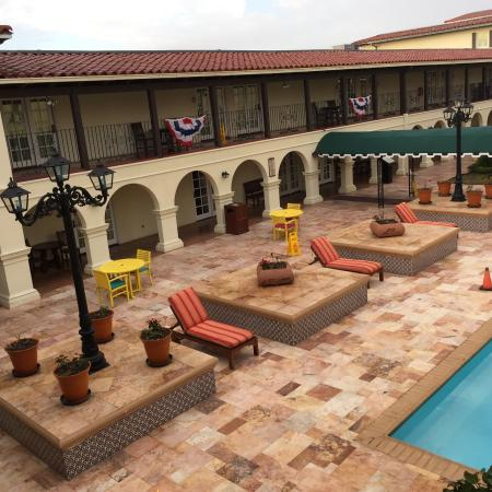 La Posada Hotel: Pool area