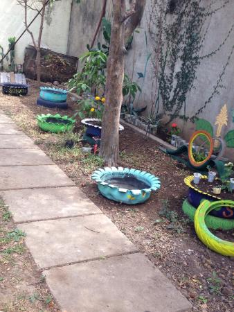 Hostel Sonati Esteli : Recycled everything!