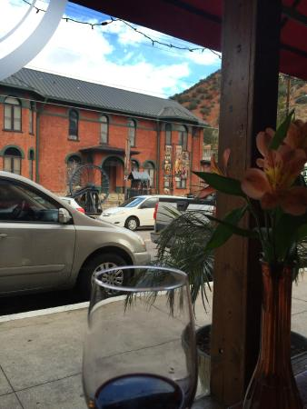 Bisbee's Tavolo: The Bisbee Historical Museum, from our table for Lunch at Bisbee's Table