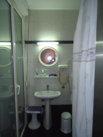 Aegeon Hotel: Baño del hotel