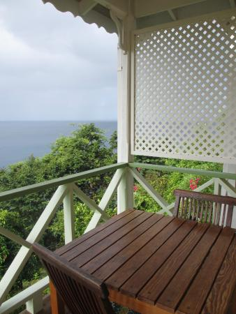 Mango Bay Cottages: View from the room