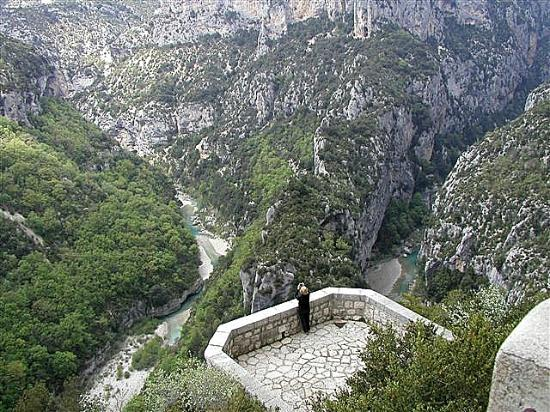 Alpes-de-Haute-Provence, France: Verdon canyon