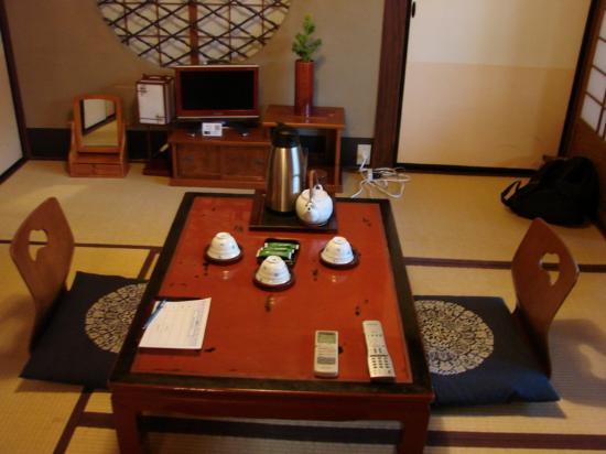 Inn Kawashima: vista da sala de estar