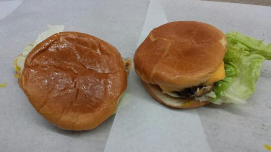 Johnson's Drive-In: Their cheeseburgers!