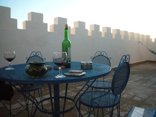 Hotel Villa Soleil : Terasse