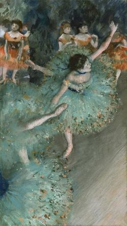 "Museo Thyssen-Bornemisza: ""Swaying Dancer"" by Edgar Degas"