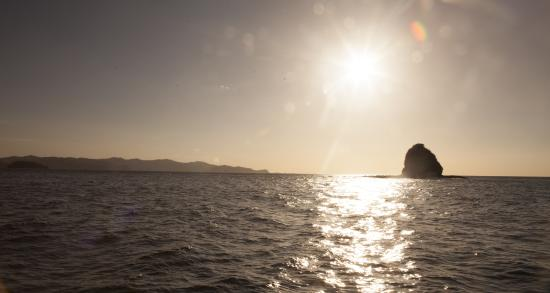 El Refugio Guanacaste Ecotours: Sunset from the sailboat