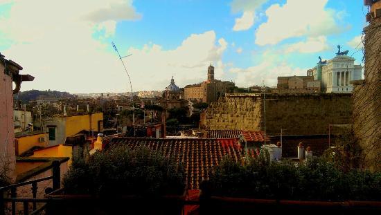The Inn At The Roman Forum: Vue de l'hôtel