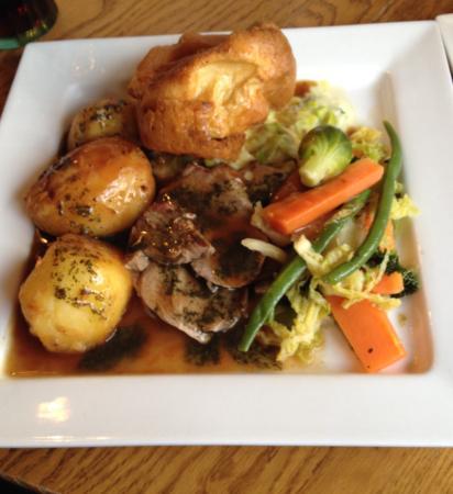Beeches Hotel & Leisure Club : Sunday roast