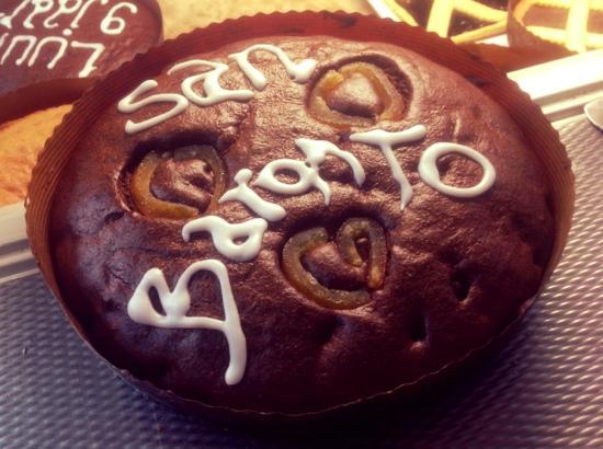 San Baronto: torta