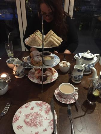 Penarth, UK: Afternoon tea