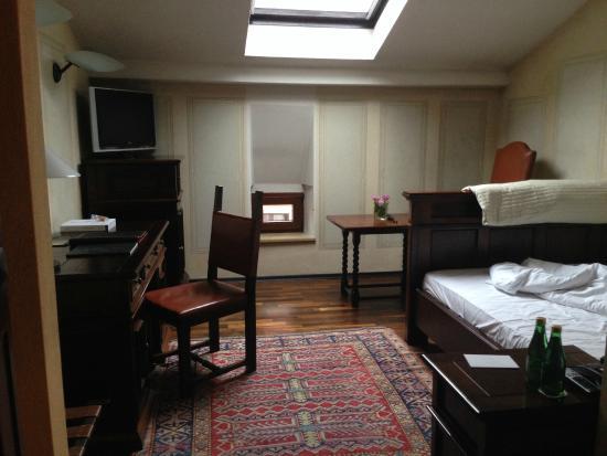 Hotel Copernicus: Chambre individuelle