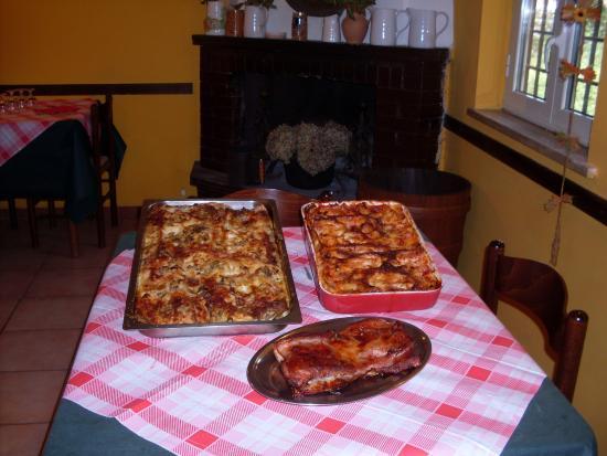 La Pergola: Lasagne e cannelloni