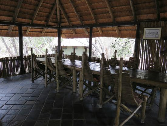 Tangala Private Camp: Inside Dining Area