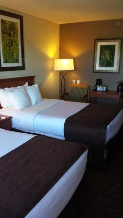 Rocky Mountain Park Inn: Two Double Bed Room