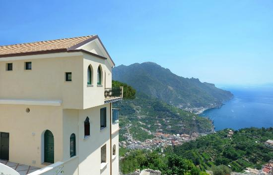 Map Of Ravello Hotels And Attractions On A Ravello Map Tripadvisor