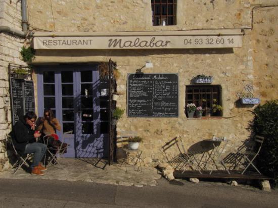 Malabar restaurant : vista ristorante ingresso