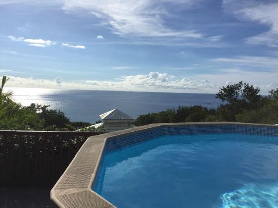Rochers Caraibes-Eco Village : Vue de la piscine