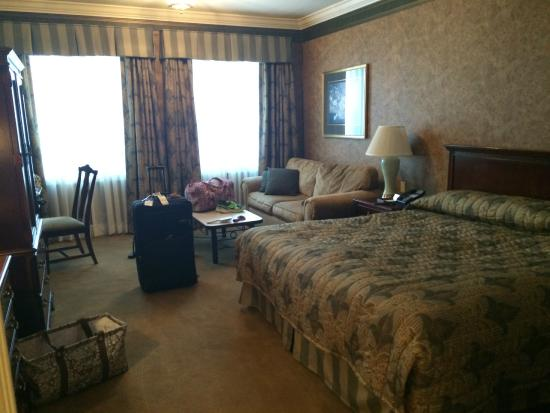 The Copperfield Inn Resort: Our room- King room