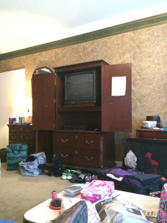 The Copperfield Inn Resort: the old tube tv