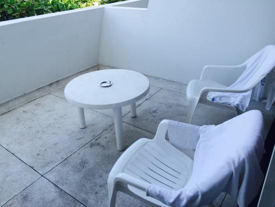 Hotel Almirante: Balcón
