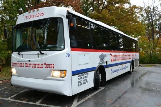 Gettysburg Battlefield Bus Tours: Gettysburg Battlefield Tour Bus