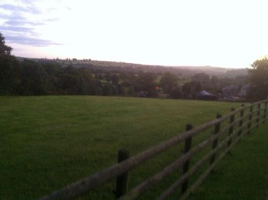 Barn Farm Camping: View over the valley