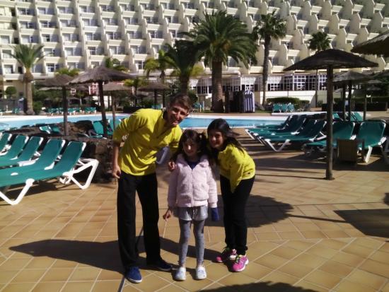 Hotel Beatriz Costa & Spa: Luís y Carmen. Animadores. Mil Grácias.