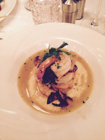 The Downtown Grocery: Shrimp and grits special