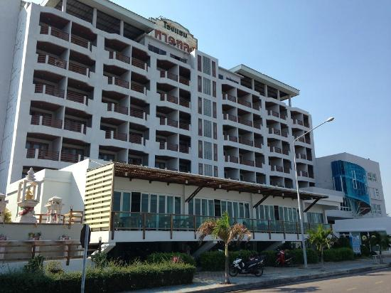 Hadthong Hotel: ホテル外観